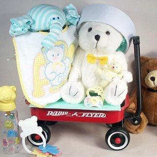 """""""Hello World!"""" Baby Shower Gift Basket"""