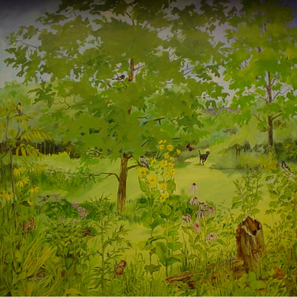 Kdt murals four seasons riverside park for 4 seasons mural