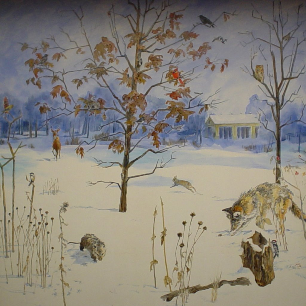 Kdt murals for 4 seasons mural