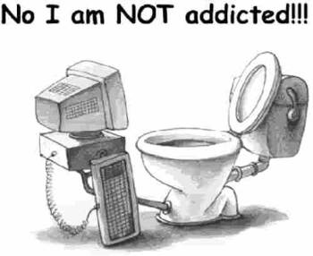 Image result for using computer on toilet