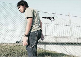 Neadrtálci v reklame na Wrangler Jeans