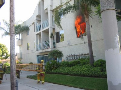 Photo courtesy of Christian Granucci LAFD. Click for more images...