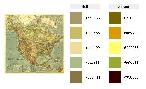 Color Palette Generator Cartography - Color map generator