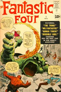Fantastic Four #1 (Stan Lee/Jack Kirby)