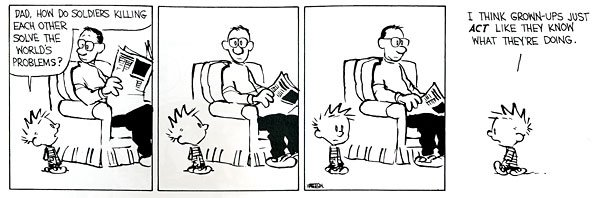 The last great newspaper comic strip the appeal of calvin and hobbes