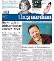 El periódico inglés The Guardian y el polaco Rzeczpospolita han sido elegidos recientemente los diarios mejor diseñados del mundo. Pincha en la imagen para ver la noticia publicada por elmundo.es