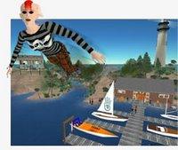 La posibilidad de volar es quizás la única diferencia entre el mundo real y el mundo virtual que propone Second Life