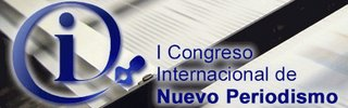 Logo del I Congreso Internacional de Nuevo Periodismo (Valencia; 19, 20 y 21 de octubre de 2006)