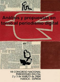 Portada del libro de comunicaciones del VII Congreso Nacional de Periodismo Digital de Huesca