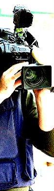 Sergio ha sido compañero y es cámara de Infotv
