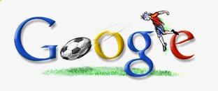 Logotipo de Google durante el Mundial de fútbol de Alemania 2006
