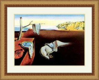 reproduccion de persistencia de la memoria de Salvador Dali