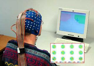 imagen de una persona conectada a los electrodos