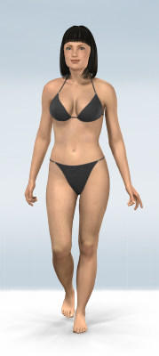 Skinny Huge Natural Tits Bouncing