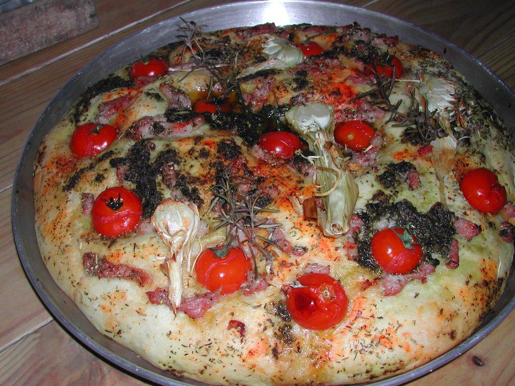 Les cuisines de garance la pizza focaccia la le on de - Les cuisines de garance ...