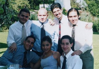 De izquierda a derecha, arriba: Nacho, yo, Agoran, Jorge; abajo: Paco, Francia, Alfredo