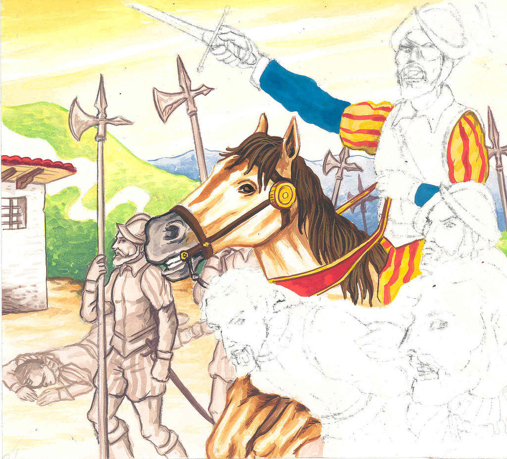 TUTORIAL:ILUSTRACION EDITORIAL ( GUERRA CIVIL ENTRE ALMAGRO Y ...
