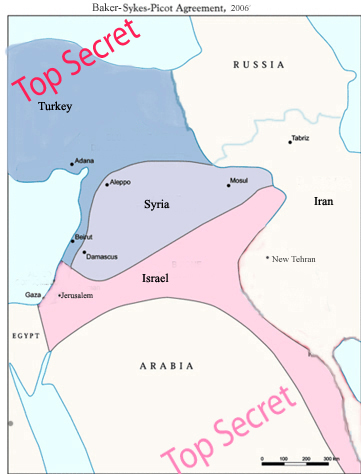 Digerycohen The New Baker Sykes Picot Agreement