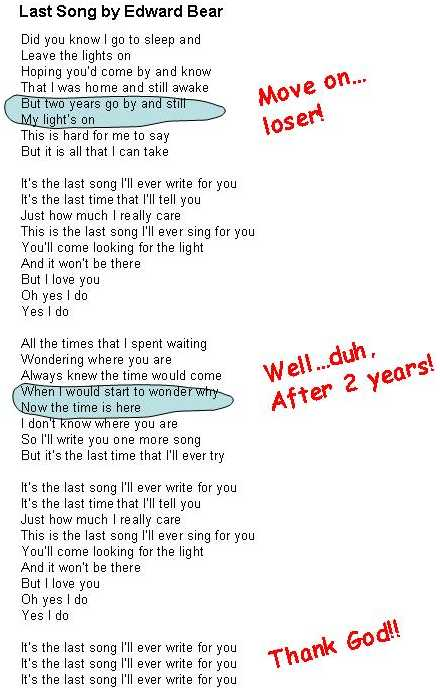 To fuck gently lyrics me
