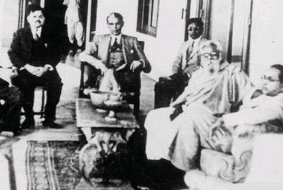 Periyar with Jinnah and Ambedkar