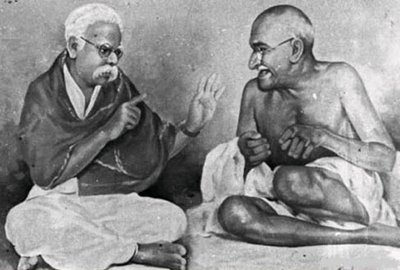 Periyar with Gandhi