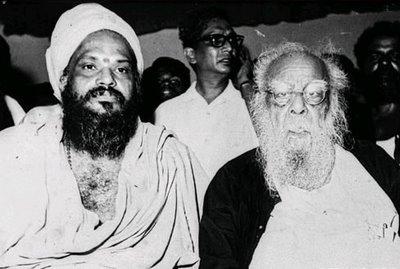 Periyar with Kundrakudi Adigalar