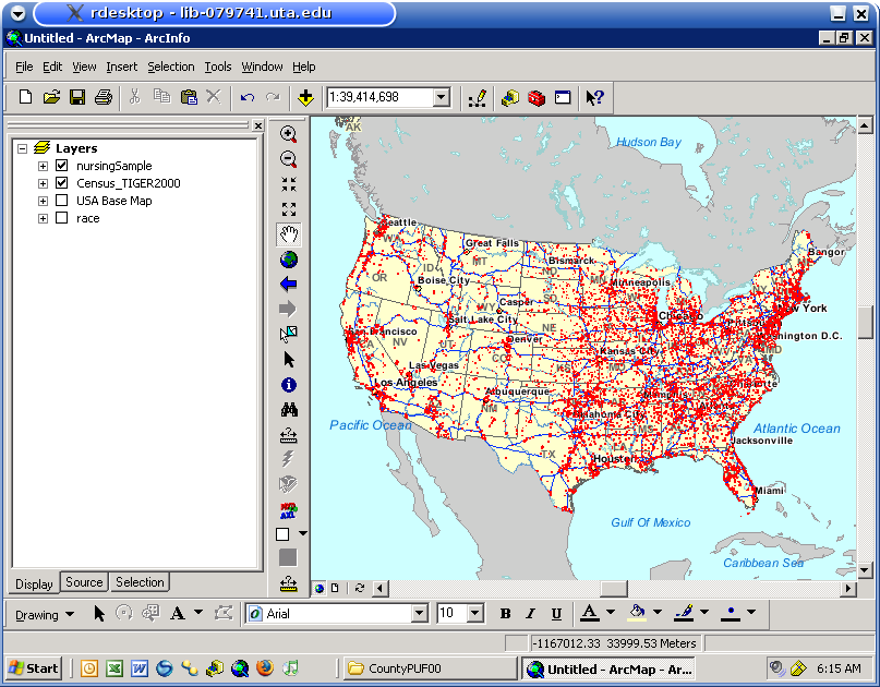 mapz: a gis librarian: National Sample Survey of Registered Nurses