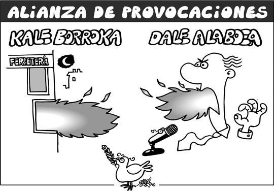 Alianza de provocaciones