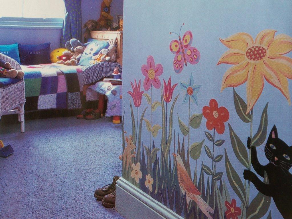 Arrumar a brincar pintura de paredes - Pintura de pared ...