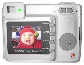Kodak EasyShare C330 Back