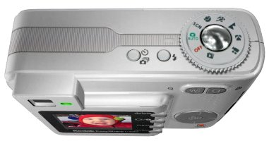 Kodak EasyShare C330 Top