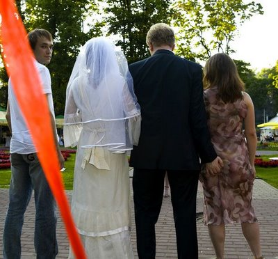 Weird Wedding Photo