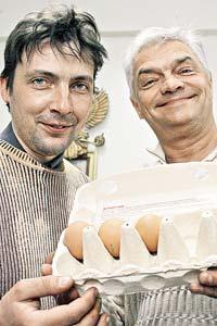Vladimir Lagovski and Andrei Moiseynko