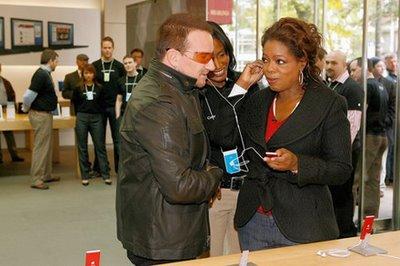 Bono + Oprah = Bonoprah ipod
