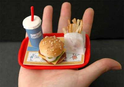 Minuature Fast Food