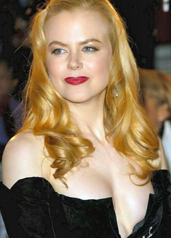 Nicole Kidman has no big deal Nudity