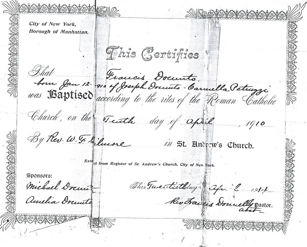 The quest for matisse here is my grandfathers birth certificate which clearly shows that are name was originally docunto and was legally changed to daconta key information aiddatafo Choice Image
