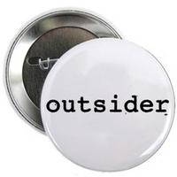 Outsider Button