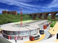 Proposal for a new bus interchange designed by Aedas