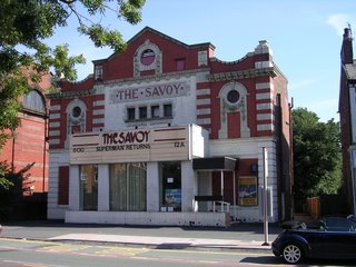 Savoy Cinema, 9.9.06. Photo by Bill