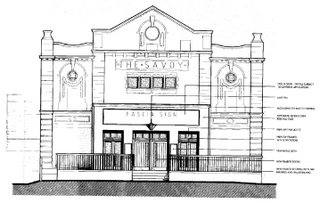 proposed new facade