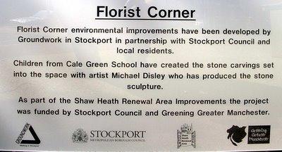 Florist Corner sign