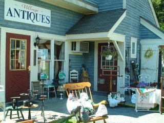 one of the antique shops in lafayette