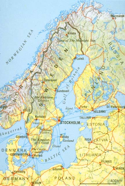 My Ford Dreams Classic First Brazil Now Sweden When The US - Sweden map 1600
