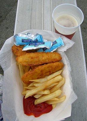 Fish 'n Chips -- mmmm!
