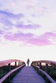 Uma boa caminhada para pôr os pensamentos em ordem e o coração em paz.