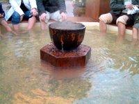 イタリア村に沸いた温泉