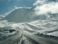 Road up to Turoa: photo copyright WebWeaver Productions