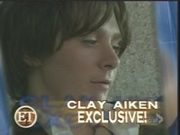 Entertainment Tonight - Clay's album photoshoot exclusive.