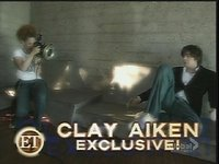 Clay Aiken's new look - ET photoshoot exclusive.